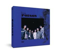 VAV - POISON (5th Mini Album) CD+Booklet+Photocard+On Pack Poster+Tracking no.
