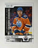 2017-18 17-18 O-Pee-Chee OPC Base #591 Connor McDavid Points LL
