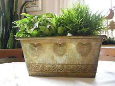 Schönes Deko-Pflanzen Gefäß aus Metall !