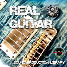 Electric Guitar Real - Large Perfect Multi-Layer Studio Samples Library on DVD
