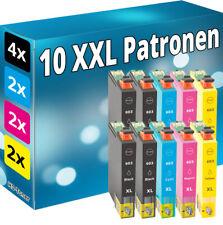 Set 10x Tinte Patronen für Epson 603 XL Seestern WorkForce WF 2830 2835 2850 DWF