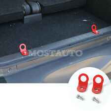 For Suzuki Jimny 2007-2015 Metal Car Rear Trunk Luggage Net Lock Hooks 2pcs