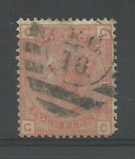 1855/00 Sg 152, 4d Vermilion (GC) Plate 15, Large Garter, Good to fine used.