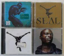 Seal CD Sammlung - 4 CDs (Seal, Best 1991-2004, Human Being, IV)