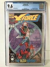 X-Force 2 CGC 9.6 1992 2nd Appearance Of Deadpool.