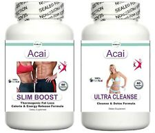 T5 Acai Fat Burner Colon Cleanse Perdita di Peso Aiuto Dimagrante Pillole Dimagranti Compresse