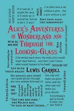 Word Cloud Classics: Alice's Adventures in Wonderland and Through the...