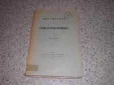 1910.des preuves pour l'exercice des reprises matrimoniales / Henri Penon.droit