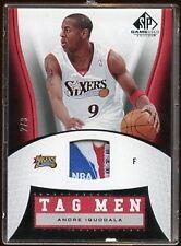 ANDRE IGUODALA 2006 SPGU TAG MEN NBA LOGO PATCH /3   BEAUTIFUL CARD  LOOK @