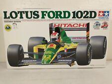 1992 Tamiya Lotus Ford 102D Mika HakkinenF-1 Grand Prix 1:20 Kit ~ Open Box