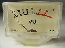1 ONLY OF 3 TEAC TASCAM 34B VU METER 85-7 GUARANTEED 5296007000