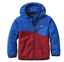 PATAGONIA Kids 6 - 12 Month Baby Micro D Snap-T Fleece Jacket CUTE Zip Up