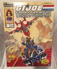 SDCC 2016 Hasbro Exclusive: GI Joe & TF - Powerglide vs Soundwave, NEW, MIB