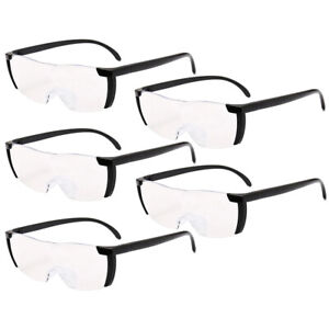 5pc Pro Big Vision Magnifying Presbyopic Glasses Seen On TV 160% Eyewear Reading