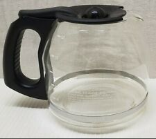 MR COFFEE 12 Cup Replacement Glass Carafe Decanter Pot Black Lid & Handle (4)