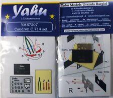 Yahu Models YMS7207 1/72 PE Caudron Cr.714 details