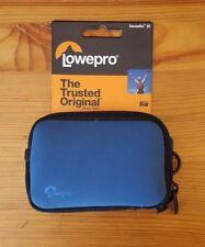 NEW Lowepro Sausalito 20 Compact Camera Case - Blue
