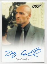 DAZ CRAWFORD as Henchman / James Bond Archives Final Edition Autograph Card