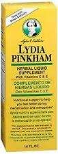 Lydia Pinkham Herbal Liquid Supplement 16 oz (Pack of 2)