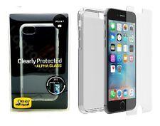 Genuino Funda protectora de piel OtterBox TPU + Protector de Pantalla de Vidrio para Alpha iPhone 7