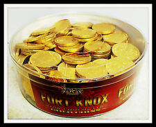 Gold Coins- Milk Chocolate Made in Holland-Fort Knox 180 pieces Brand new 2.5lbs