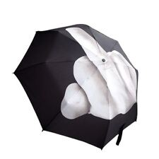 Novelty Personality Umbrella Middle Finger F uck YOU RAIN Foldable Umbrella A