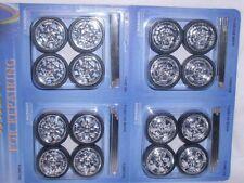 felgenset Felgen Set Reifen 1/24 Und 1/18 32 Mm Tuning 3,2 Cm Chrom Modellauto M