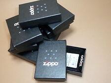 acht leere orig. ZIPPO Schachteln / Pappboxen - NEU