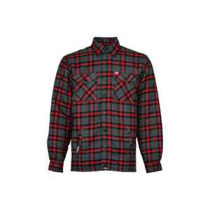 Jacket Flannel BELL Dixxon Grey/Red Size L