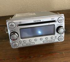Toyota FJ Cruiser OEM Radio Stereo MP3 Cd Player AUX 86120-35620 Pioneer Head