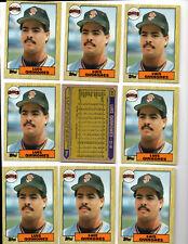 1987 Topps Baseball SAN FRANCISCO GIANTS LUIS QUINONES ROOKIE  25 CARD LOT