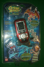 Bandai Catcha Beast Red Electronic Action Boys Game Display Screen & Compass