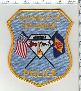 Harrington Police (Delaware) 2nd Issue Shoulder Patch