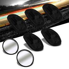 5PCs Smoke Len Amber 9LED  Cab Roof Top Light+Blind Spot Mirror For 02-08 Ram