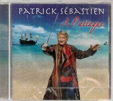 "CD ""Patrick Sébastien A l'attaque""     NEUF SOUS BLISTER"