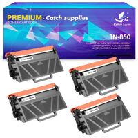 4PK Toner Cartridge Compatible for Brother TN850 TN-850 HL-L6200DW MFC-L5800DW