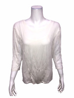 Lisa Rinna Collection Women's Mesh Panel Knit Top with Camisole X-Small Size