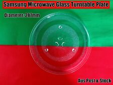Samsung Microwave Oven Glass Turntable Plate Platter 287mm Suits Many Brand (W6)
