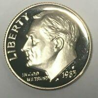 Roll of 50: $.10  1983-S Roosevelt Dime Gem Proof BU