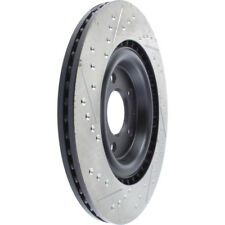 Disc Brake Rotor-Sport Drilled/Slotted Disc Rear Left Stoptech 127.33137L