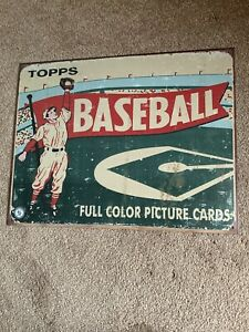 Topps Vintage Style 1950's era Reproduction Tin Sign