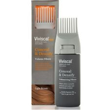 Viviscal Hair Thickening Fibres For Men Conceal And Densify - Light Brown