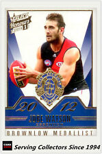 2014 Select AFL Honours Brownlow Gallery Card BG50 Jobe Watson (Essendon)