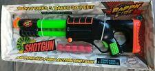 Vintage 1992 Rappn' Fire Shotgun-Blaster / Air Pump Action Blaster mit 5 Bällen