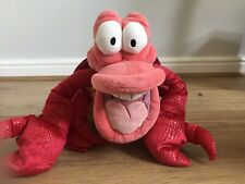 "Disney Store Exclusive Sebastian Plush (from The Little Mermaid) 12"" Stamped"