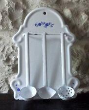 French Enamel utensil rack (miniature / dolls / childs)