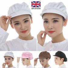 More details for cook men women kitchen baker chef elastic hat  dustproof cap catering practical