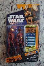 Battle Droids 2-Pack SL20 2010 STAR WARS The Clone Wars SAGA Legends MOC