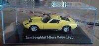 """DIE CAST """" LAMBORHINI MIURA P400 - 1966 """" SCALA 1/43 ATLAS EDITION"""