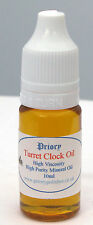Priory Turret Clock Oil -10ml - Free 1st Class Postage